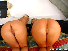 An Intense Threesome With Two Beautiful Blondes