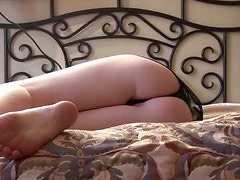 Nap Time With Emma Kay While The Camera Films Her Ass