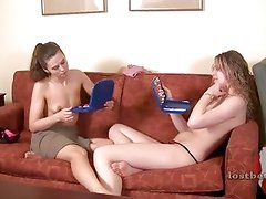 Amber and Mary play Battlestrip