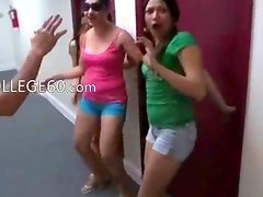 College lovely students fucking in hall