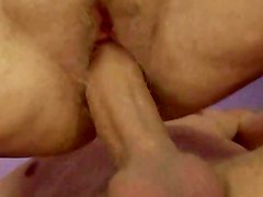 Mature granny amateur bouncing on cock