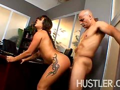 Jynx Maze is a hot Latina who takes a hard anal pounding!