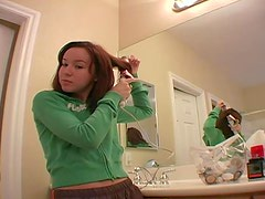 Sexy Brunette AnnaBelle Lee Getting Nice and Ready