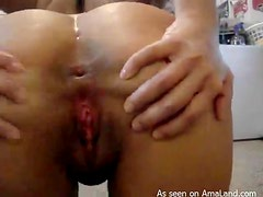 Horny Chick Plays With Her Wet Pussy In Homemade Video