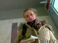 Busty Czech girl paid for hardcore sex with stranger in her apartment