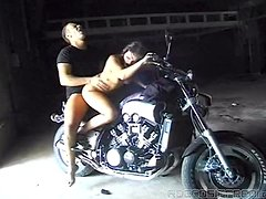 Biker Chick Fucked By Big Dick.
