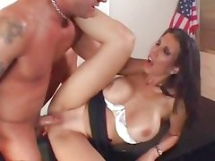 Shay Sights gets her face plastered with warm cum