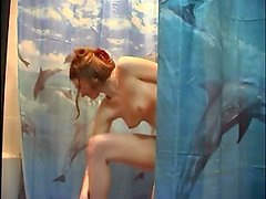 Shower peeped