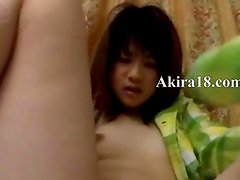Innocent amateur teenager from Japan