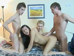 Gorgeous group action with Anna and Taylor