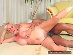 Ludmilla gets her mouth filled with cum after riding a dick