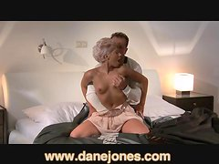 DaneJones Very sexy girl gets passionate in bed