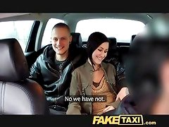 FakeTaxi I join horny married couple for a threesome