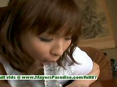 Nao Ayukawa innocent cute asian girl likes fucking in the kitchen