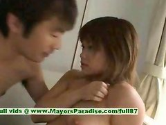 Yukka Matsushita innocent chubby asian girl is toying