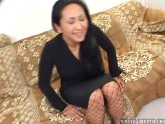 Dark Haired MILF Loves Younger Studs