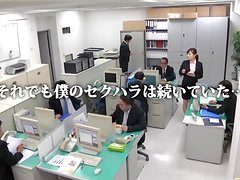Azumi  plays dirty games with her colleague in the office