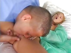 Patient nailed by doctor