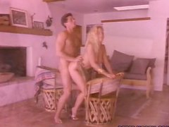 Sensual Blonde Sucks A Dick And Gets Fucked.