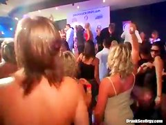 Dirty dancing at a wild night club party