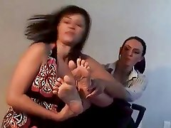 Foot worship as punishment!