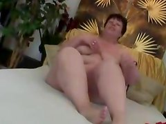 Fat mature woman have sex with younger man