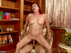 Mature Redhead Lover Lupita Having the Most Amazing Sex
