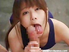 DDT-283B - Cum Eating Japanese Gokkun Lady