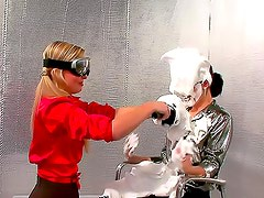 Whipped cream all over hotties