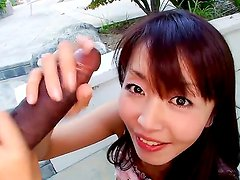 Gorgeous and really arousing asian brunette