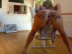 Hot blonde Chastity Lynn gets a hard cock from John Stagliano deep in her ass