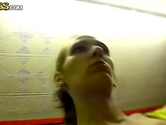 Amateur video with skinny Russian college