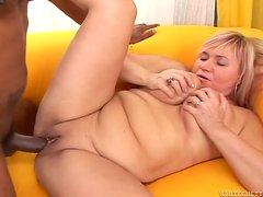 Horny Venus B loves a huge monster cock of Franco