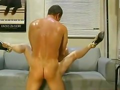 Anal maduro - 2-holes stuffing for Hillary