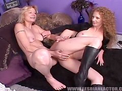 Mature Lesbians Get Dirty in an Amazing Video