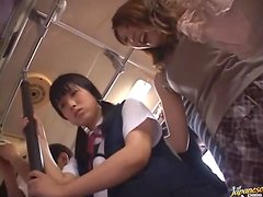 Crazy Fuck Fest in Public Bus with Japanese Maki Mizusawa
