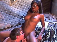 Attractive black haired ebony Cocoa Shanelle