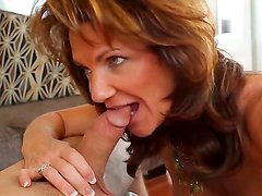 Hot stud Daniel Hunter pleases mature mom Deauxma with one nasty fuck