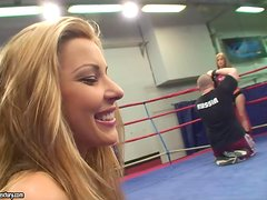 NudeFightClub with Sophie Moone and Cindy Hope