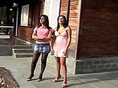 Moniquelohan dicky tranny inside action