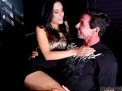 Dude Nails A Pole Dancer With His Thick Rod.