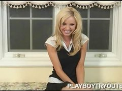 Tiffany Toth is so naughty and hot during the interview