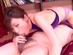 Young cocksucking Japanese girl is gorgeous