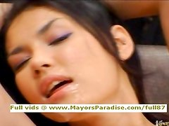 Maria Ozawa and Yuki Osawa innocent toying and having orgasm