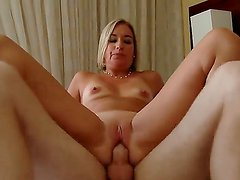 Blonde hottie Sexy Suz gets nailed and enjoys intense pelasure while fucking with Patrick J Knight