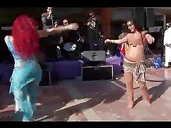 Alla Kushnir sexy belly Dance part 49