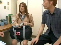 Japanese Sweet Teen Gets Fucked in a Visit to Her Gyno