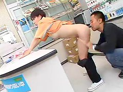 Japanese girl fucked in convenience store