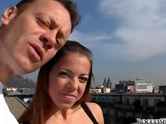 Ivana B sucks Rocco Siffredi's cock before and after sex