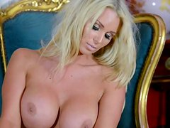 Cara Brett is a glamorous blonde beauty with perfect body.